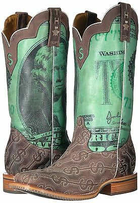 01322ff7d99 NEW IN BOX Mens Tin Haul Shoes Duece Western Boot Size 10.5 D ...