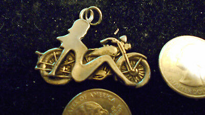 bling pewter RACE casino motorcycle BIKER FASHION pendant charm necklace JEWELRY