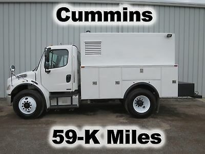 M2 Cummins Automatic Compressor Generator Enclosed Utility Service Truck 59-K Mi