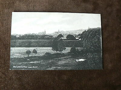 Vintage Davidson's Postcard: Blairgowrie from Loon Braes, Scotland