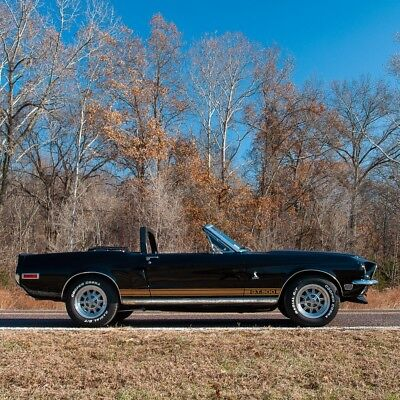 1968 Ford Mustang GT-500 Convertible Cobra Tribute 1968 Shelby Mustang GT-500 Convertible Cobra Tribute