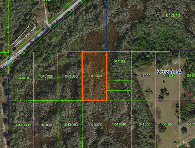 5 Acres, Foreclosure Ready Now, Polk City, Road Access, No Reserve, Drive By
