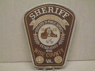 Wise County (Va) Sheriff Department Patch, Large