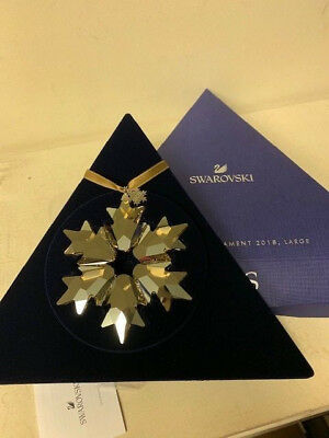 Swarovski Crystal SCS Large Snowflake Ornament 2018