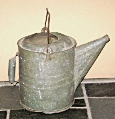 Vintage Galvanized Metal 2 Gallon Watering Can