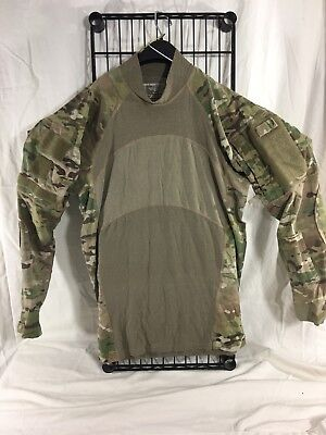 Grade B, LARGE, OCP Massif Multicam Army Combat Shirt ACS Flame Resistant