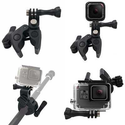 VGSION Gun/Rod/Bow Mount Clamp For Gopro Hero 7 6 5 4 3+ Session Fusion Sportsma