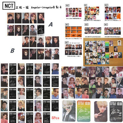 KPOP NCT 2018 Official Photocard Photo Card Poster Lomo Cards Members New