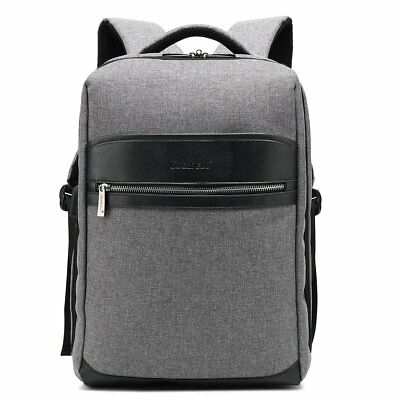 abc5dfd17f63 15-15.6 Inch Backpack Water-resistant Knapsack Protective Day Pack For Men