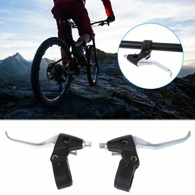 1 Set Bicycle Brake Lever Aluminum Cycling MTB Road Bike Fixed Gear Accessories