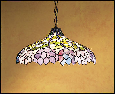 Meyda Tiffany 30449 Tiffany Glass Stained Glass / Tiffany Down Lighting Pendant