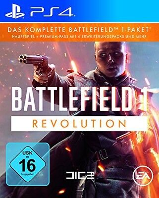 PS4 / Sony Playstation 4 game - Battlefield 1: Revolution boxed