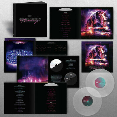 "Muse : Simulation Theory CD Super Deluxe  12"" Album Box Set 4 discs (2018)"