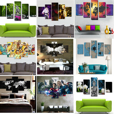 Unframed Modern Abstract Canvas Print Painting Picture Wall Mural Hanging Decors
