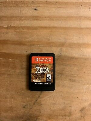 Legend of Zelda: Breath of the Wild (Nintendo Switch, 2017) Cassette only