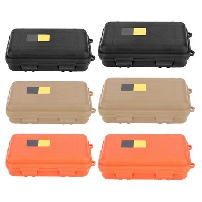 Airtight Survival Storage Case Container Fishing Carry Box Outdoor Waterproof