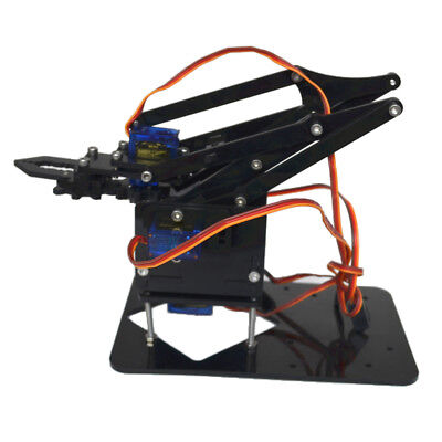 Mechanical DIY 4-DOF Robot Arm & Electronic Components for Arduino Learning