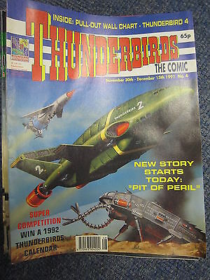 Thunderbirds Fleetway 4 Gerry Anderson Thunderbird 4 pullout