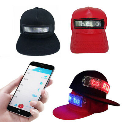 Hot New Cool Hat LED controlled Smartphone with Screen Light Waterproof