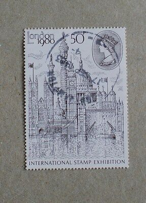 Complete GB used stamp set - London 1980 International Stamp Exhibition