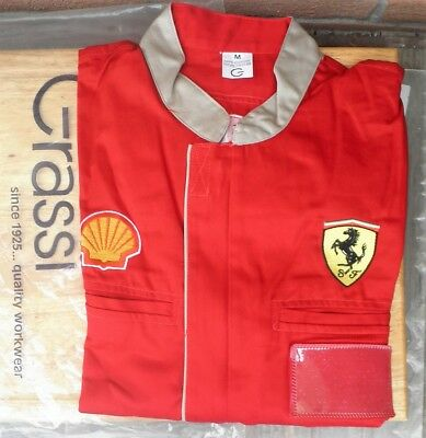 Giacca Scuderia Ferrari  M Officina Maranello Workshop Jacket Car Only Employees