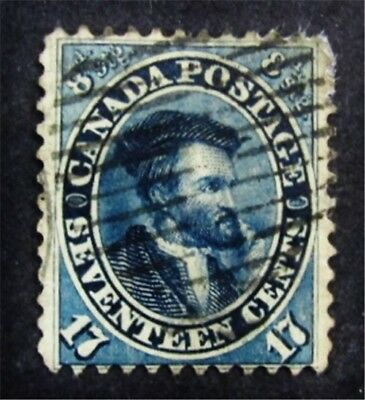 nystamps Canada Stamp # 19 Used $190