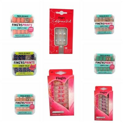 Fing'rs Simply Chic / Pocket 24 Girl Kids False Nails BUY 2 GET 1 FREE
