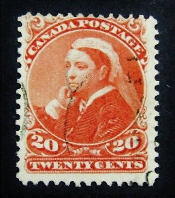 nystamps Canada Stamp # 46 Used $100
