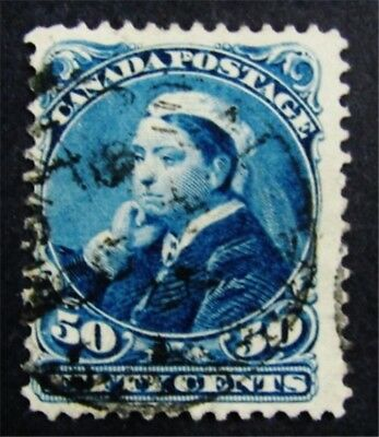 nystamps Canada Stamp # 47 Used $75