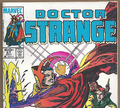 DOCTOR  STRANGE #67 with The Shroud from Oct. 1984 in Fine+ condition