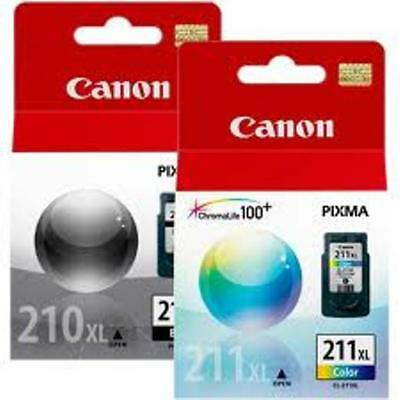 Canon PG-210XL CL-211XL Combo Ink NEW GENUINE!
