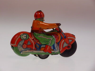 """GSMOTO """"CROWN AUTO CYCLE """" ALPS 1950,s, 9cm, FRICTION OK, SEHR GUT/ VERY GOOD !"""