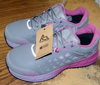 Ace Steel Tipped Work Shoes for Women Size 9 Brand New