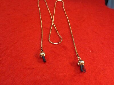 Eyeglass Holder 30 Inch 14Kt Gold Plated 1.6Mm Snake Chain Eyeglass Holder