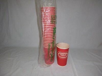 Sleeve of 25 Vtg Cineplex Cinema Coca Cola 32 oz Sweetheart Waxed Paper Cups