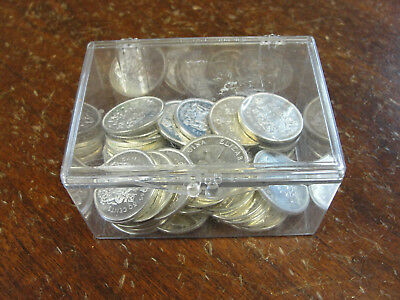 13.49 ozt Canadian Silver Coins Half Dollars 50 Cent Canada Proof-Like $18 Face