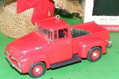 Hallmark Ornament 1995 Ford Truck 1956 All American Truck Series #1 MIP