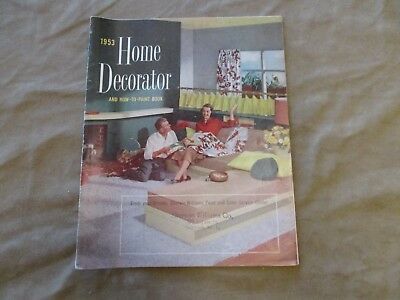 1953  Sherwin Williams Home Decorator And How To Paint Book