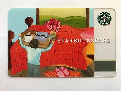 2003 Starbucks Gift Card Mother's Day Mom Unused No Value Pin Hidden 6015