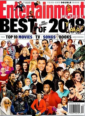Entertainment Weekly Magazine December 14-21, 2018 BEST AND WORST OF 2018