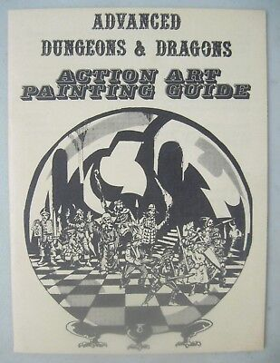 Add Advanced Dungeons & Dragons Action Art Painting Guide