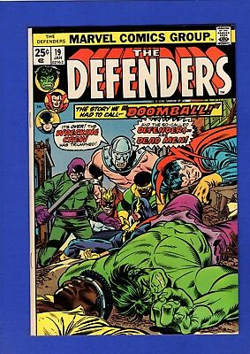 Defenders #19 Nm 9.4 High Grade Bronze Age Marvel Early Wrecking Crew