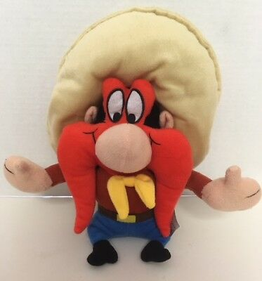 "YOSEMITE SAM 13"" Plush Doll 2010 NEN Sugarloaf WB Looney Tunes Stuffed Toy"