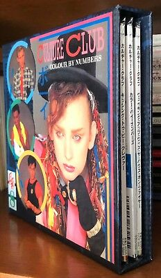 CULTURE CLUB RARE 2008 JAPAN PRO BOX SET 3x MINI REPLICA LP CD W/ OBI Boy George