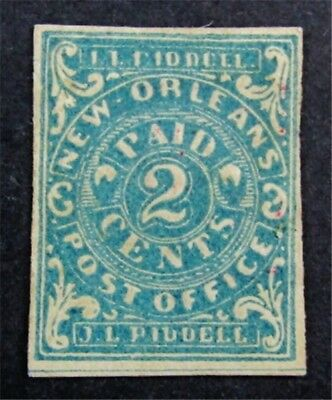 nystamps US CSA Confederate Stamp # 62X1 Mint OG H $225