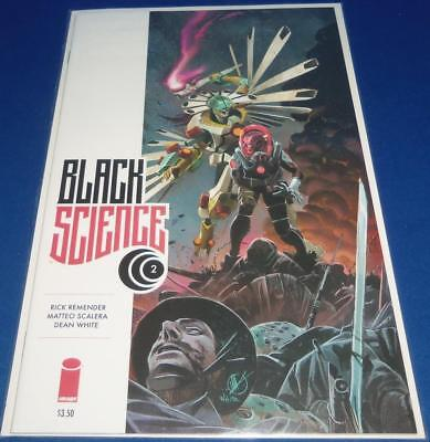 2013 Image Comics Black Science #02 Comic Bagged & Boarded