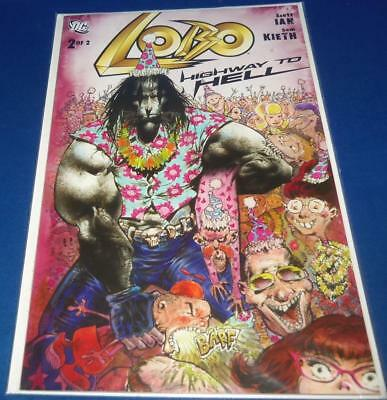 2010 DC Comics LOBO Highway To Hell 2 of 2 Bagged Boarded