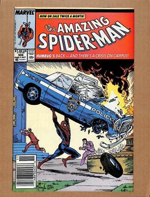 Amazing Spider-Man # 306 - NEAR MINT 9.0 NM - Avengers! MARVEL Comics