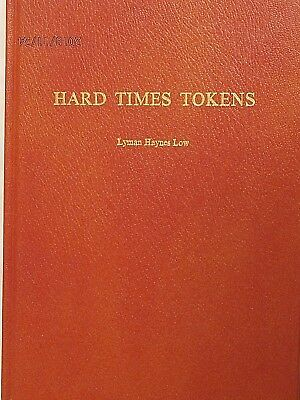 HARD TIMES TOKENS by LYMAN HAYNES LOW BOOK HARD RED COVER
