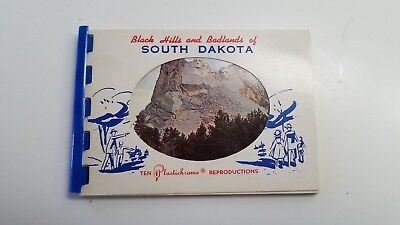 plastichrome booklet south dakota 10 pictures of Black Hills and Badlands